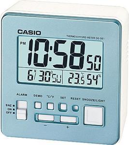 Budzik Casio DQ-981-2ER Termometr Higrometr - 2847546940