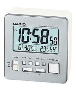 Budzik Casio DQ-981-8ER Termometr Higrometr - 2847546942