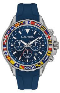 Zegarek Nautica NAD19562G NST 1000 Chrono Flags - 2855509346