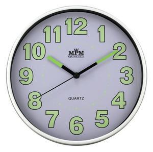 Zegar ścienny MPM E01.3683.00 fi 20 cm Lume - 2856442588