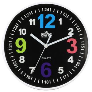 Zegar ścienny MPM E01.3686.90 fi 20 cm Kolorowy - 2856442590