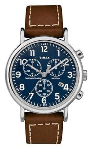 Zegarek Timex TW2R42600 Weekender Chrono Indiglo - 2857903000