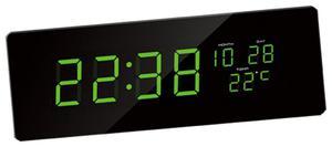 Zegar ścienny JVD DH2.1 LED Cyfry 7,5 cm Długość 51 cm - 2857903011
