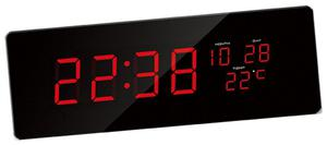 Zegar ścienny JVD DH2.2 LED Cyfry 7,5 cm Długość 51 cm - 2857903012