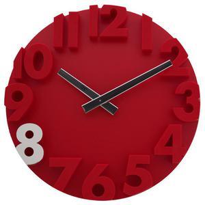 Zegar ścienny JVD HC16.4 średnica 34 cm Cyfry 3D - 2857903064