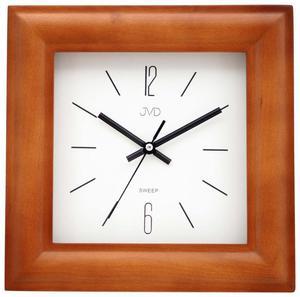 Zegar ścienny JVD N1176.41 SZKŁO DREWNO