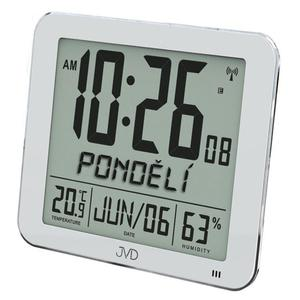 Zegar JVD DH9335.1 Termometr DCF77 Dni Tygodnia PL - 2857903116