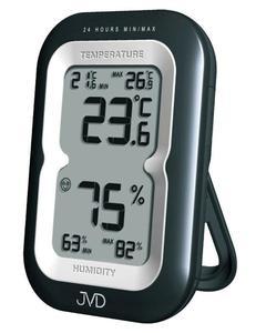 Termometr Higrometr JVD T9230.1 Pamięć Alarmy - 2857903124