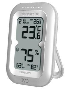 Termometr Higrometr JVD T9230.2 Pamięć Alarmy - 2857903125