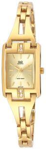 Zegarek Q&Q GT77-010 Cyrkonie Biżuteryjny - 2858606674