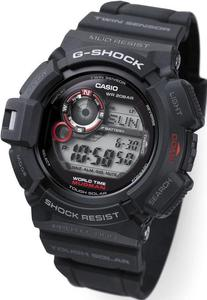Zegarek Casio G-9300-1ER G-Shock Mudman - 2847547073
