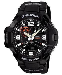 Zegarek Casio GA-1000-1AER G-Shock Kompas Termometr - 2847547077