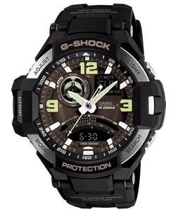 Zegarek Casio GA-1000-1BER G-Shock Kompas Termometr - 2847547078