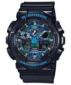 Zegarek CASIO GA-100CB-1AER G-SHOCK A/C COOL BLUE - 2847547087