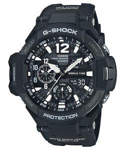 Zegarek Casio GA-1100-1AER G-Shock Kompas Termometr - 2847547103