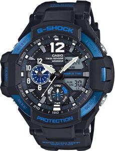 Zegarek Casio GA-1100-2BER G-Shock Kompas Termometr - 2847547104