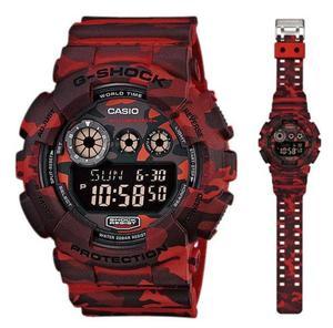 Zegarek Casio GD-120CM-4ER G-Shock Camouflage - 2847547154