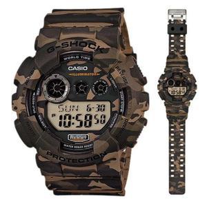 Zegarek Casio GD-120CM-5ER G-Shock Camouflage - 2847547155
