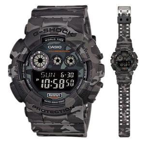 Zegarek Casio GD-120CM-8ER G-Shock Camouflage - 2847547156
