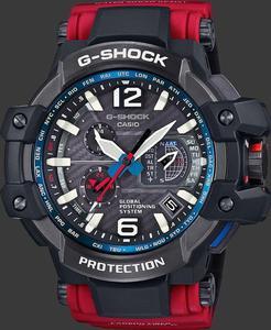 Zegarek CASIO GPW-1000RD-4AER G-SHOCK GPS SOLAR SZAFIR - 2847547192