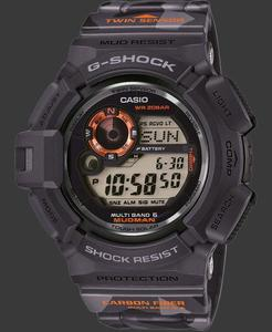 Zegarek Casio GW-9300CM-1ER G-Shock Mudman - 2847547206