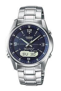 Zegarek CASIO LCW-M100DSE-2AER SOLAR SZAFIR Wave Ceptor - 2847547243