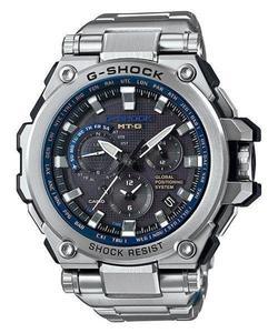 Zegarek CASIO MTG-G1000D-1A2ER G-SHOCK GPS MVT SMART ACCESS SZAFIR - 2847547342