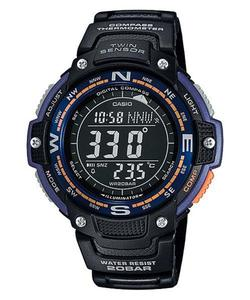 Zegarek Casio SGW-100-2BER OutGear Kompas - 2847547436