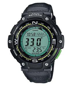 Zegarek Casio SGW-100B-3A2ER OutGear Kompas - 2847547439