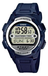 Zegarek CASIO W-756-2AVEF Soccer Stoper - 2847547536