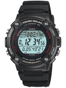 Zegarek CASIO W-S200H-1BVEF SOLAR 120 LAP - 2847547544