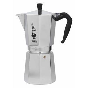 Włoska kawiarka aluminiowa ciśnieniowa BIALETTI MOKA EXPRESS - kafetiera na 18 filiżanek espresso - 2850918806