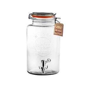 Słoik na napoje szklany z kranikiem KILNER 5 l - 2856556741