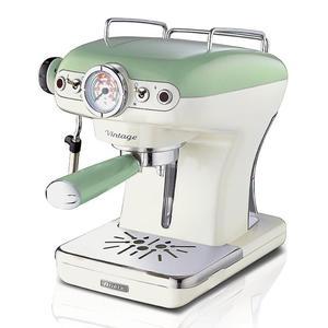 Ekspres do kawy ciśnieniowy plastikowy ARIETE VINTAGE ZIELONY 900 W - 2843432861