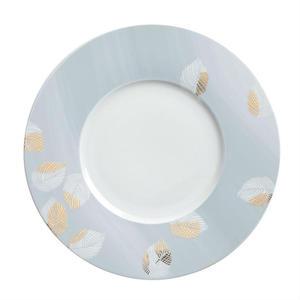 Talerz obiadowy płytki porcelanowy KAHLA DINER LEAF BŁĘKITNY 31 cm - 2885007231
