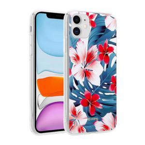 Etui do iPhone 11 Crong Flower Case [czerwone kwiaty] - 2902867358
