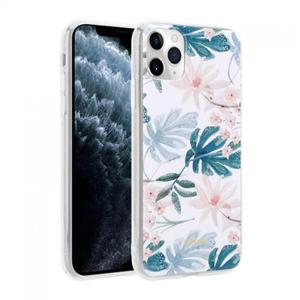 Etui do iPhone 11 Pro Crong Flower Case [niebieskie kwiaty] - 2902867359