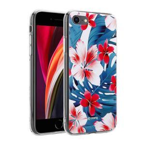 Etui do iPhone 7/8/SE 2020 Crong Flower Case [czerwone kwiaty] - 2902867364