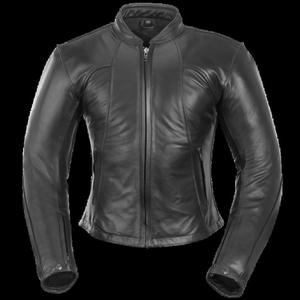 Kurtka motocyklowa skórzana damska BUSE Lara czarna - 2847783755