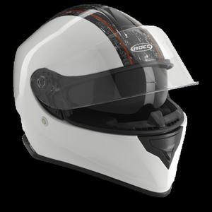 Kask motocyklowy ROCC 432 biało-czarny - 2847784479