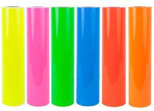 Folia fluorescencyjna 6510-029 żółta - 2845912656