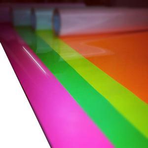 Folia fluorescencyjna 6510-046 różowaa - 2845912659