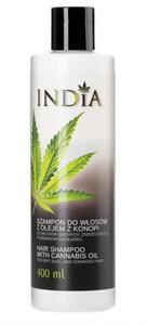 Szampon do Włosów z Olejem Konopnym, 400 ml, India Cosmetics - 2829166883