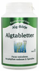 Algtabletter, Alg-Börje, Algi Morskie w Tabletkach, Suplement Diety - 2834265778