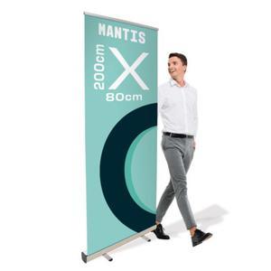 Rollup Mantis 80 x 200 cm stojak reklamowy rozwijany z opcj - 2860698746