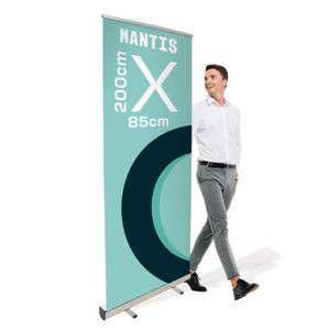 Rollup Mantis 85 x 200 cm stojak reklamowy rozwijany z opcj - 2860698747