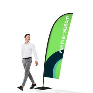 Flaga reklamowa Winder 3,05m Feather - 2837291502