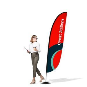 Flaga reklamowa Winder 3,05m Crest - 2837291685