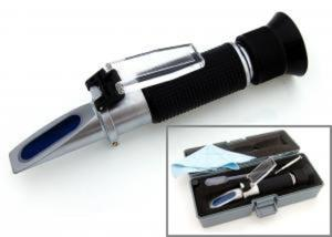Refraktometr do płynów eksploatacyjnych samochodu (płyny chłodzące, płyny do spryskiwaczy, elektrolit, płyn AdBlue) - 2832432119
