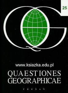 Quaestiones Geographicae 25: Spatial aspects of the Polish transformation - 2619309037